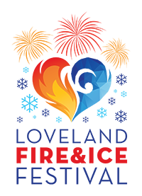 Loveland Fire and Ice 2018 logo